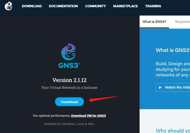 GNS3下载
